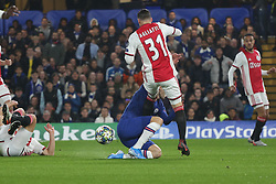 November 5, 2019: AMSTERDAM, NETHERLANDS - OCTOBER 22, 2019: Nicolas Tagliafico (Ajax) pictured during the 2019/20 UEFA Champions League Group H game between Chelsea FC (England) and AFC Ajax (Netherlands) at Stamford Bridge. (Credit Image: © Federico Guerra Maranesi/ZUMA Wire)