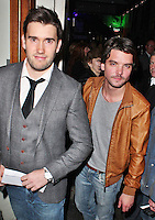 LONDON - October 03: Anthony Lewis & Andrew Lee Potts in London (Photo by Brett D. Cove)