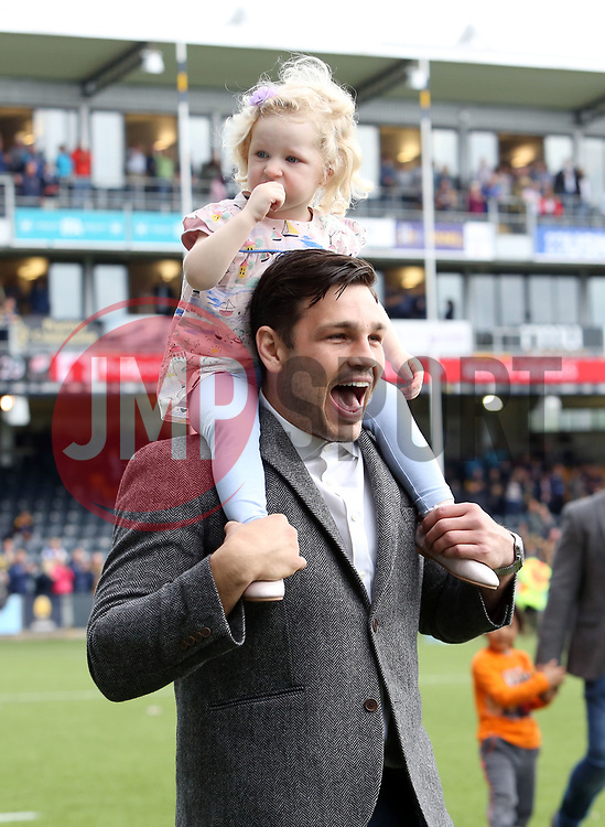 Matti Williams of Worcester Warriors during the lap of honour - Mandatory by-line: Joe Dent/JMP - 18/05/2019 - RUGBY - Sixways Stadium - Worcester, England - Worcester Warriors v Saracens - Gallagher Premiership Rugby