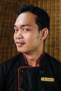 Chef Ke Ratana at Chanrey Tree restaurant, Siem Reap