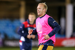 Shane Geraghty of Bristol Rugby looks on during the warm up - Rogan Thomson/JMP - 20/10/2016 - RUGBY UNION - The Recreation Ground - Bath, England - Bath Rugby v Bristol Rugby - EPCR Challenge Cup.