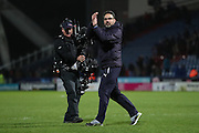 Huddersfield Town Manager (head coach) David Wagner applauds the fans at the final whistle the EFL Sky Bet Championship match between Huddersfield Town and Brighton and Hove Albion at the John Smiths Stadium, Huddersfield, England on 2 February 2017.