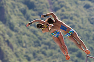 Team ITALY BATKI Noemi VERZOTTO Maicol silver medal<br /> Bolzano, Italy <br /> 22nd FINA Diving Grand Prix 2016 Trofeo Unipol<br /> Diving<br /> MIXED 10m synchronised platform final <br /> Day 03 17-07-2016<br /> Photo Giorgio Perottino/Deepbluemedia/Insidefoto