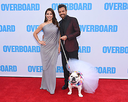 "Los Angeles premiere of ""Overboard"" held at the Regency Village Theatre on April 30, 2018 in Westwood, CA. 30 Apr 2018 Pictured: Alessandra Rosaldo, Eugenio Derbez and Fiona. Photo credit: O'Connor/AFF-USA.com / MEGA TheMegaAgency.com +1 888 505 6342"