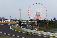Adrian Sutil (GER) Sauber C33.<br /> Japanese Grand Prix, Saturday 4th October 2014. Suzuka, Japan.