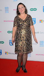 Arabella Weir attends The Guide Dog Of The Year Awards 2014 at The Hilton Park Lane Hotel, London on Wednesday 15th December 2014