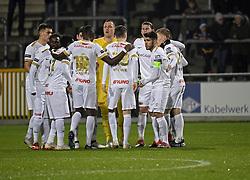 December 23, 2018 - France - players of Genk (Credit Image: © Panoramic via ZUMA Press)