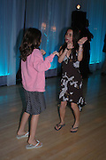 Jade Jagger's daughters: Amber and Assisi. An evening in aid of cancer charity Clic Sargent held at the Sanderson Hotel, Berners Street, London on 4th July 2005ONE TIME USE ONLY - DO NOT ARCHIVE  © Copyright Photograph by Dafydd Jones 66 Stockwell Park Rd. London SW9 0DA Tel 020 7733 0108 www.dafjones.com