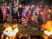 Mass Cremation in Bali