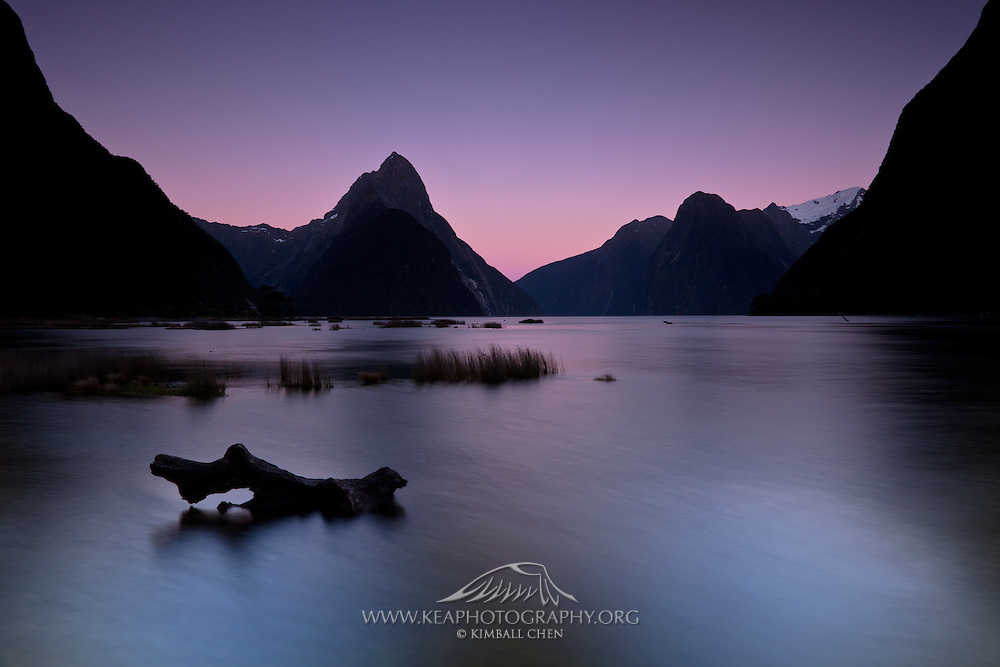 Mitre Peak, Milford Sound, Fiordland, New Zealand