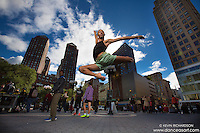 Union Square Dancer Andre Street Lewis Dance As Art The New York Photography Project