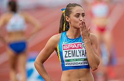 07-07-2016 NED: European Athletics Championships day 2, Amsterdam<br /> Olha Zemlyak UKR