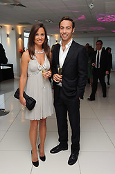 PIPPA MIDDLETON and her brother JAMES MIDDLETON at The Reuben Foundation and Virgin Unite Haiti Fundraising dinner held at Altitude 360 in Millbank Tower, London on 26th May 2010.