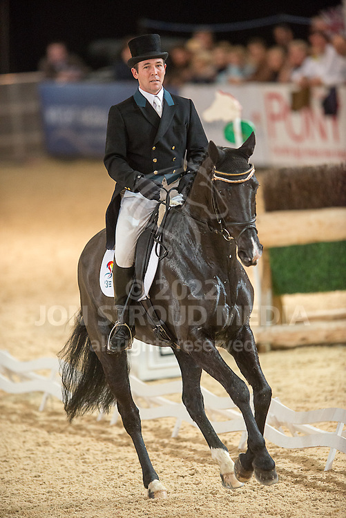 Auston O'Connor (IRL) & Ringwood Mississippi - Dressage - Express Eventing - Horse World Live - ExCel London - 17 November 2012