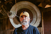 Portrait of a farmer.<br />