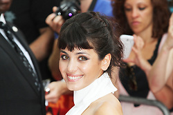 © Licensed to London News Pictures.22/07/2013.Katie Melua, Red 2 European Film Premiere, Empire cinema Leicester Square, London UK, 22 July 2013. Photo credit : Richard Goldschmidt/Piqtured/LNP