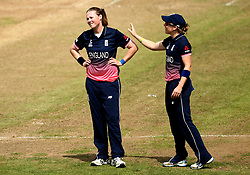 Anya Shrubsole of England Women looks frustrated after not being given a wicket for a caught behind - Mandatory by-line: Robbie Stephenson/JMP - 09/07/2017 - CRICKET - Bristol County Ground - Bristol, United Kingdom - England v Australia - ICC Women's World Cup match 19