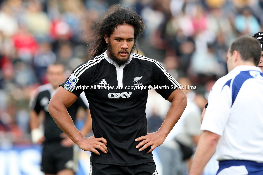 Liaki Moli - New Zealand 43 v 10 Wales - 13th June 2010 - C A Colon - Santa Fe - Photo : Martin Seras Lima