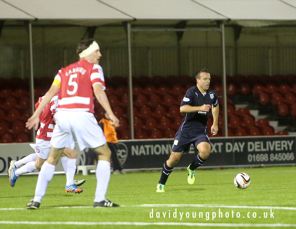 Gavin Rae - Hamilton Academical v Dundee, SPFL Championship at New Douglas Park<br /> <br />  - &copy; David Young - www.davidyoungphoto.co.uk - email: davidyoungphoto@gmail.com
