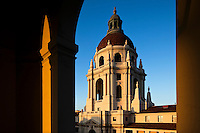 City Hall Framed in Archway, Pasadena, California