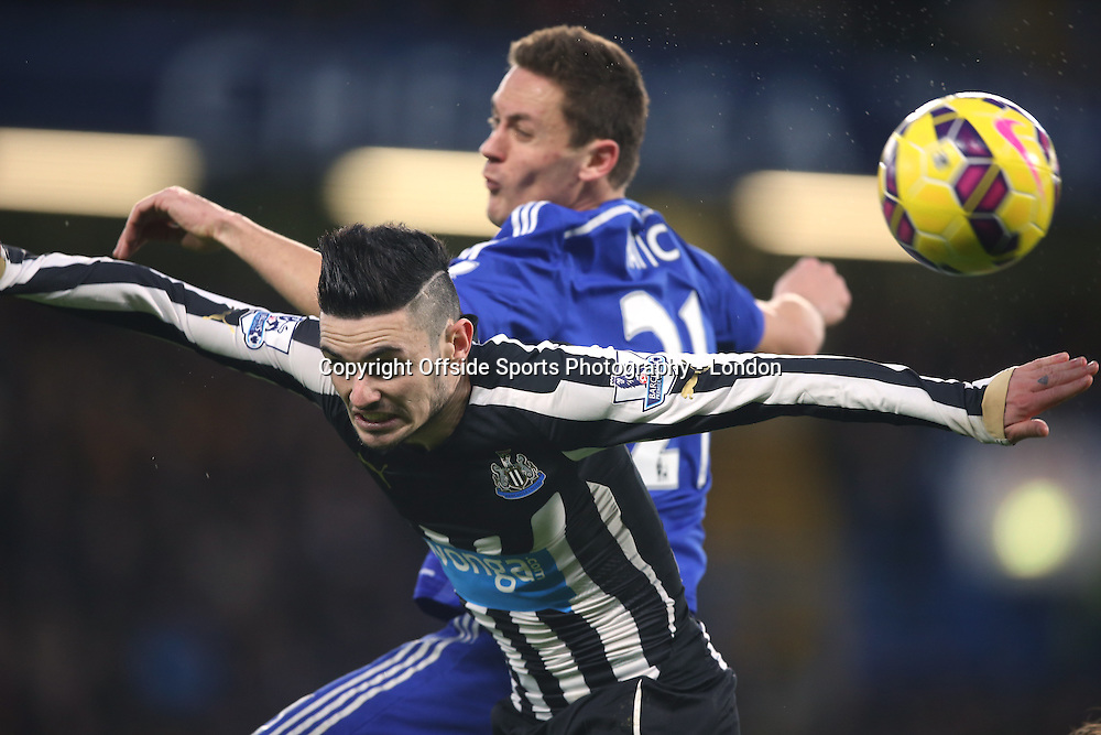 10 January 2015 Premier League Football - Chelsea v Nerwcastle United ;  Remy Cabella of Newcastle.<br /> Photo: Mark Leech