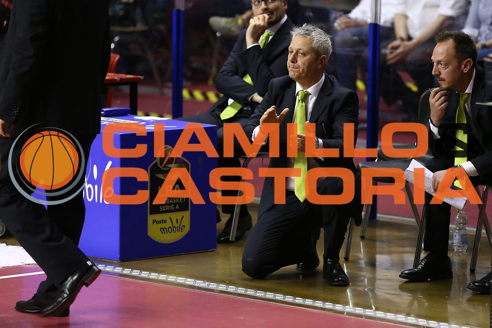 Oldoini Massimiliano<br /> Umana Reyer Venezia vs Sidigas Avellino<br /> Lega Basket Serie A 2016/2017<br /> Play Off SemiFinali Gara 1<br /> Venezia,26/05/2017<br /> Foto Ciamillo-Castoria/A. Gilardi