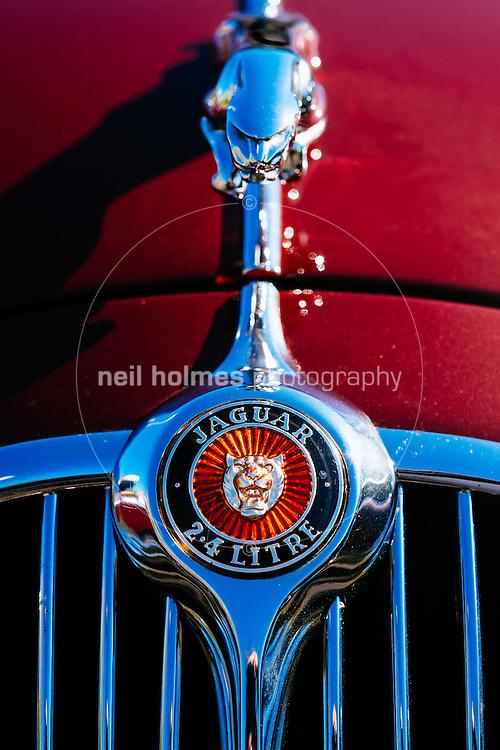 Humber Bridge, Hessle, East Yorkshire, United Kingdom, 26 April, 2015. Pictured: East Yorkshire Thoroughbred Car Club. Pictured: Jaguar 2.4 Litre