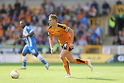 Wolverhampton Wanderers midfielder Dave Edwards in action during the Sky Bet Championship match between Wolverhampton Wanderers and Brighton and Hove Albion at Molineux, Wolverhampton, England on 19 September 2015.