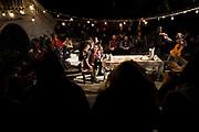 20181115/ Nicolas Celaya - adhocFOTOS/ URUGUAY/ MONTEVIDEO/ CEMENTERIO CENTRAL/ Obra teatral Don Juan Tenorio en el marco del II Festival Internacional Cervantino, en el Cementerio Central, Montevideo.<br /> En la foto: Obra teatral Don Juan Tenorio en el marco del II Festival Internacional Cervantino, en el Cementerio Central, Montevideo. Foto: Nicol&aacute;s Celaya /adhocFOTOS