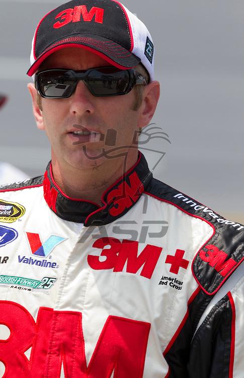 Talladega, AL - MAY 05, 2012:  Greg Biffle (16) waits to qualify for the Aaron's 499 race at the Talladega Superspeedway in Talladega, AL.
