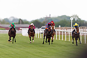 Coronation Cottage ridden by Charlie Bennett and trained by Malcolm Saunders in the Octagon Consultancy Handicap race.  - Ryan Hiscott/JMP - 24/05/2019 - PR - Bath Racecourse - Bath, England - Friday 24th May 2019 Race Meeting at Bath Racecourse