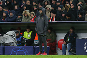 Liverpool manager Jurgen Klopp during the Champions League match between Bayern Munich and Liverpool at the Allianz Arena, Munich, Germany, on 13 March 2019.