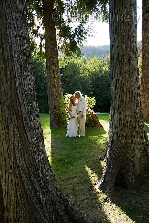 A wedding in Whistler, BC Canada.