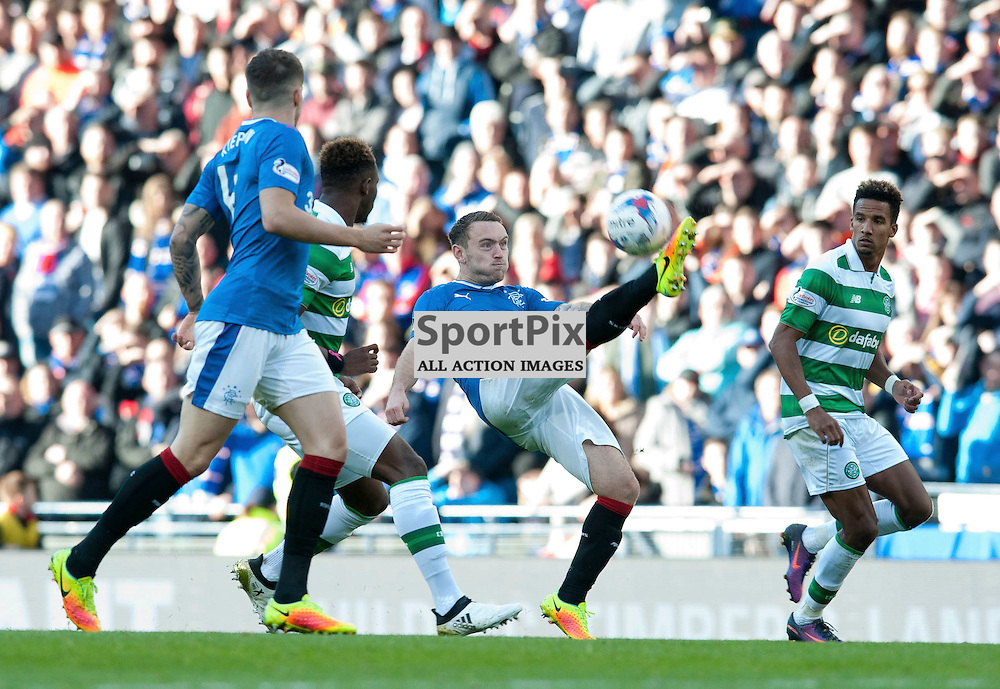 Lee Hodson in action in the match between Rangers v Celtic, Betfred Cup semi-final, Hampden Park, Sunday 23 October 2016, (c) Angie Isac | SportPix.org.uk