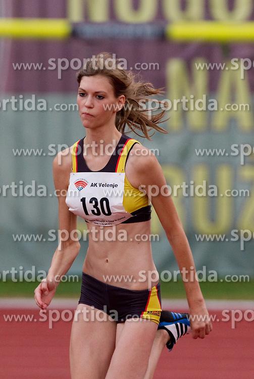 Tina Kralj during women high jump at Slovenian National Championships in athletics 2010, on July 17, 2010 in Velenje, Slovenia. (Photo by Vid Ponikvar / Sportida)
