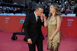Tom Hanks erhält den Lifetime Achievement Award während des Filmfest in Rom hier  Tom Hanks und Rita Wilson / 131016 ***Tom Hanks Life achievement award, Roma Cinema Fest 2016, Rome, Italy on october 13, 2016***