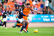 Dundee midfielder Glen Kamara (#8) defends against Dundee United midfielder Sam Stanton (#12) during the Betfred Scottish Cup match between Dundee and Dundee United at Dens Park, Dundee, Scotland on 9 August 2017. Photo by Craig Doyle.