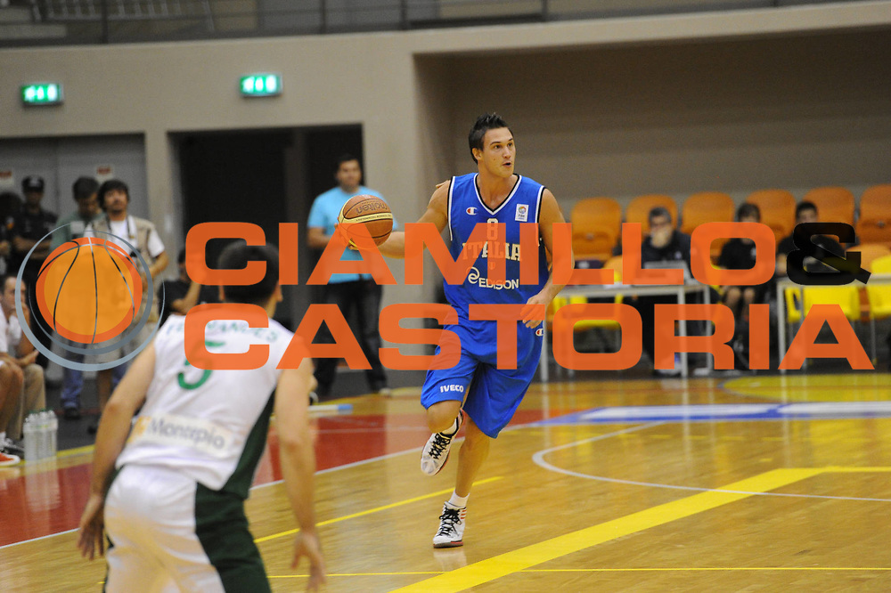 DESCRIZIONE : Coimbra Qualificazioni Europei 2013 Portogallo Italia<br /> GIOCATORE : Danilo Gallinari<br /> CATEGORIA : palleggio <br /> SQUADRA : Italia<br /> EVENTO : Qualificazioni Europei 2013<br /> GARA : Portogallo Italia <br /> DATA : 30/08/2012 <br /> SPORT : Pallacanestro <br /> AUTORE : Agenzia Ciamillo-Castoria/GiulioCiamillo<br /> Galleria : Fip Nazionali 2012 <br /> Fotonotizia : Coimbra Qualificazioni Europei 2013 Italia Portogallo<br /> Predefinita :