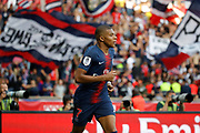 Kylian Mbappe (PSG) during the French championship L1 football match between Paris Saint-Germain (PSG) and SCO Angers, on August 25th, 2018 at Parc des Princes Stadium in Paris, France - Photo Stephane Allaman / ProSportsImages / DPPI