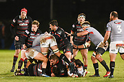 Edinburgh forwards appear in control during the Guinness Pro 14 2017_18 match between Edinburgh Rugby and Southern Kings at Myreside Stadium, Edinburgh, Scotland on 5 January 2018. Photo by Kevin Murray.