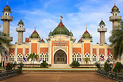 25 OCTOBER 2012 - PATTANI, PATTANI, THAILAND:  Pattani Central Mosque (Masjid) is one of the landmarks of the city of Pattani administrative center of the province of Pattani.    PHOTO BY JACK KURTZ