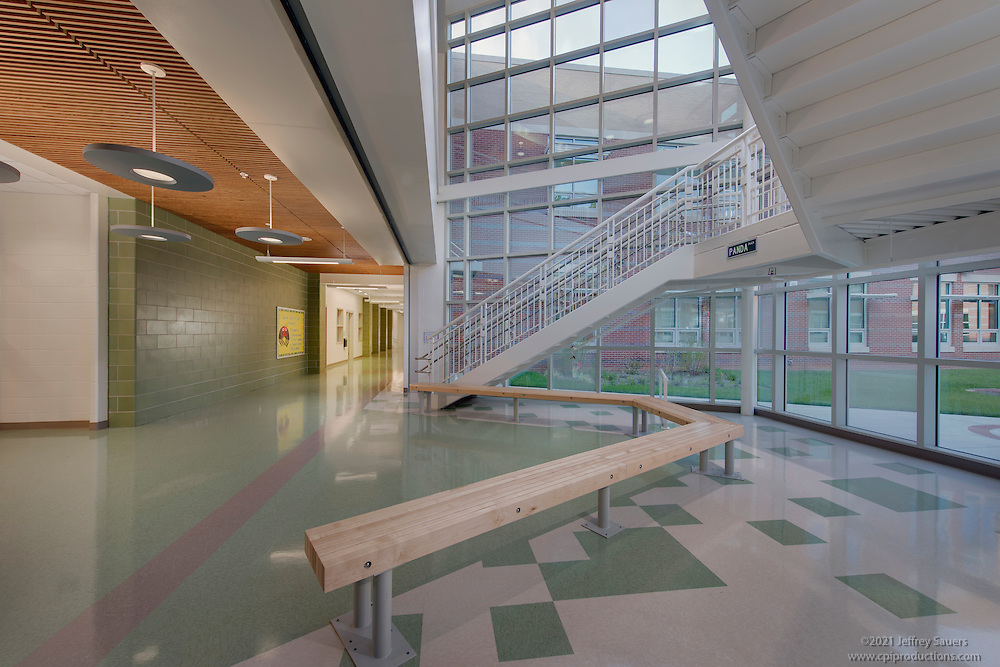 Architectural Interior Image Of Bel Pre Elementary Schol In Silver Spring Maryland By Jeffrey Sauers