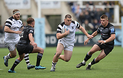 George Kloska of Bristol Bears tries to break through the Newcastle Falcons defence - Mandatory by-line: Richard Lee/JMP - 18/05/2019 - RUGBY - Kingston Park Stadium - Newcastle upon Tyne, England - Newcastle Falcons v Bristol Bears - Gallagher Premiership Rugby