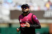 Azhar Ali of Somerset during the Royal London 1 Day Cup Final match between Somerset County Cricket Club and Hampshire County Cricket Club at Lord's Cricket Ground, St John's Wood, United Kingdom on 25 May 2019.