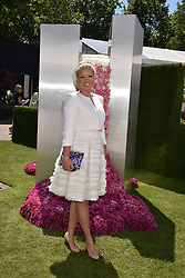 Natalie Rushdie at the RHS Chelsea Flower Show Press Day, Royal Hospital Chelsea, London England. 22 May 2017.<br /> Photo by Dominic O'Neill/SilverHub 0203 174 1069 sales@silverhubmedia.com