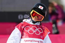 February 19, 2018 - Pyeongchang, SOUTH KOREA - 180219 Reira Iwabuchi of Japan competes in the Women's Big Air Qualification during day ten of the 2018 Winter Olympics on February 19, 2018 in Pyeongchang..Photo: Carl Sandin / BILDBYRÃ…N / kod CS / 57999_306 (Credit Image: © Carl Sandin/Bildbyran via ZUMA Press)