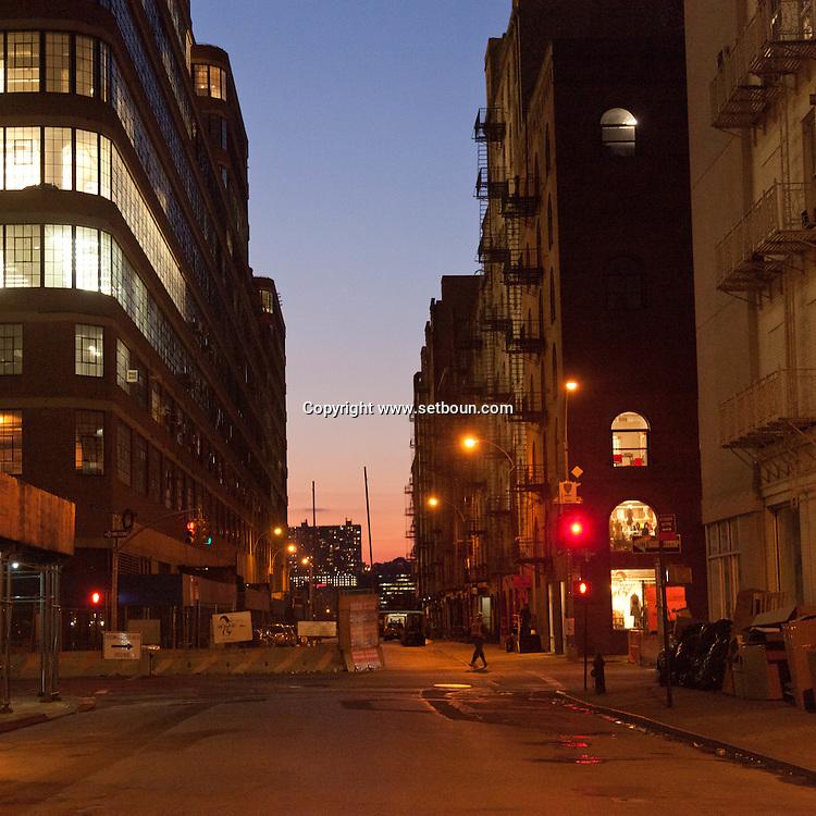 New York  USA  Manhattan Chelsea area / scene de rue a Chelsea  New York - Etats-unis
