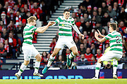 Celtic's Tomas Rogic (18) celebrates scoring the opening goal during the Betfred Scottish Cup  Final match between Aberdeen and Celtic at Hampden Park, Glasgow, United Kingdom on 27 November 2016. Photo by Craig Galloway.
