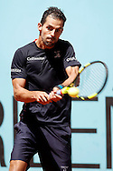 Santiago Giraldo during day two of the Madrid Open at Manzanares Park Tennis Centre, Madrid<br /> Picture by EXPA Pictures/Focus Images Ltd 07814482222<br /> 03/05/2016<br /> ***UK &amp; IRELAND ONLY***<br /> EXPA-ESP-160503-0039.jpg