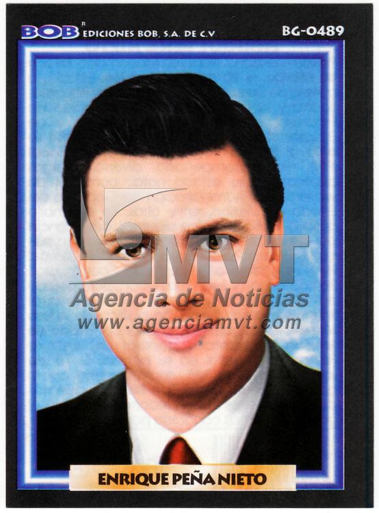TOLUCA, México.- Desde principio de este año 2010, se comenzó a vender la monografía del gobernador Enrique Peña Nieto en las papelerías de la ciudad de Toluca, siendo éste el único mandatario estatal que cuenta con una. Agencia MVT . (DIGITAL)